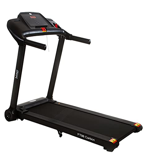Fitkit FT98 carbon 1.25HP (2HP Peak) Motorized Treadmill With Free at Home Installation Assistance and Free Diet & Fitness Plan