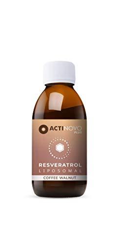 Liposomales Resveratrol | Kaffee & Walnuss 100ml | hochdosiertes Polyphenol | Pflanzliche Antioxidation | Tagesdosis 200 mg Resveratrol | hohe Bioverfügbarkeit | flüssig | ohne Zusätze | vegan