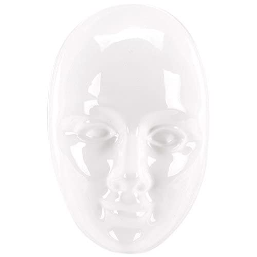 Yaley Plaster Casting Plastic Mold, 6.75 by 8.25-Inch, Face Mask