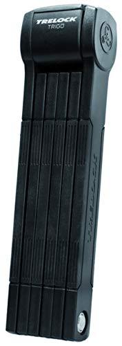 Trelock Unisex– Erwachsene FS 300 Trigo Long Faltschloss, schwarz, 100