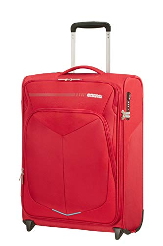 American Tourister Summerfunk Bagaglio a mano, Upright S (55 cm - 42 Litri), Rosso (Red)