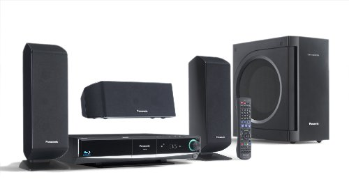 Panasonic SC BT 100 EG K 3.1 Heimkino-System mit HDMI-Anschluss und Blu-ray schwarz