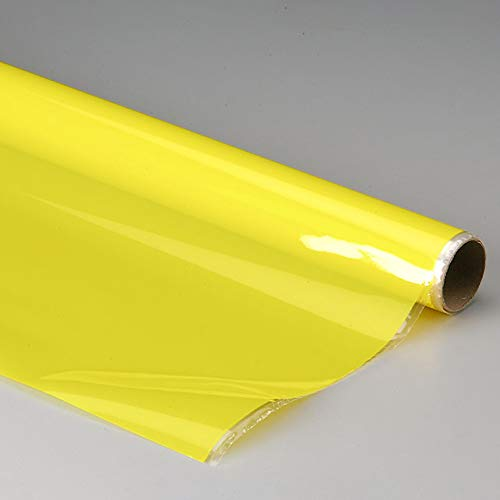 Top Flite MonoKote Transparent Yellow 6', TOPQ0303