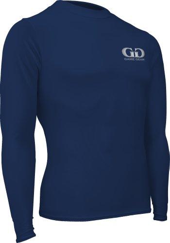 Game Gear - Running Kompressions-T-Shirts für Jungen in Navy, Größe Jugend-Large