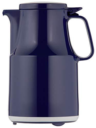Helios Thermoboy Kunststoff-Isolierkanne mit Klappdeckel 0,6 l blau spülmaschinenfest