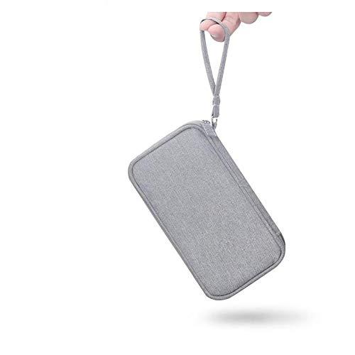 CGQDDP Cargador Digital Bolsa de Almacenamiento Organizador de Cable de Datos USB Bolsa de Cable para Auriculares Bolsa de Viaje de energía móvil
