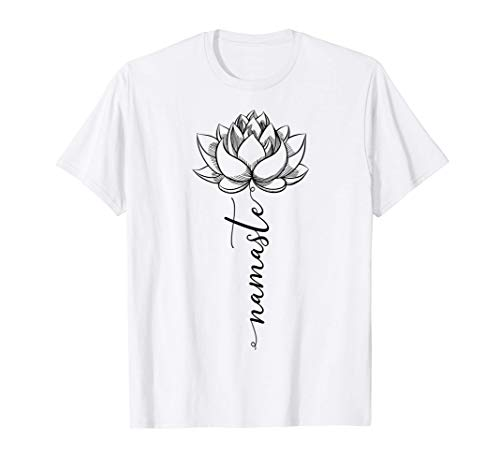Lotus Yoga Namaste Kundalini Sat Nam Wahe Guru Yogi Zen Camiseta