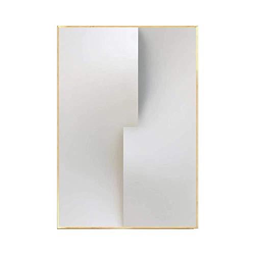 DJY-JY Blanco y Negro Abstracta Decorativa Pintura Pinturas salón del contexto del sofá murales Minimalistas Modernas de Estilo Minimalista escandinavo E Versión 40 * 60cm Arte clásico