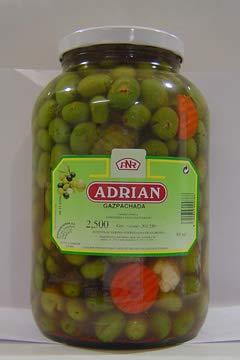 Aceitunas Verdial Gazpachada 3.895 ml 1 Galon
