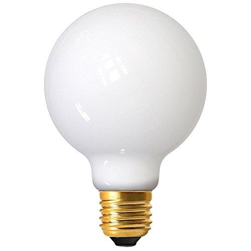 Girard Sudron 719003-LED Globo 80 mm G80 LED filamento E27 (ES Edison) Blanco cálido Lactado 806 lúmenes, 7 W Opal