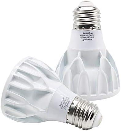 PAR20 12W Narrow Flood Light Bulb E26 Dimmable LED Bulb Spotlight Beam Angle 24 Degree 100W product image