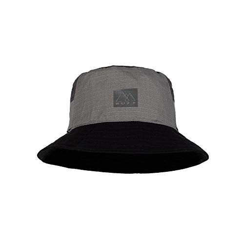 Buff Sun Bucket Hat Grau, Cap und Hüte, Größe S-M - Farbe Hak Grey
