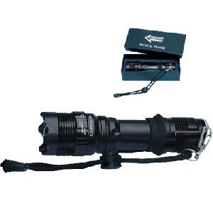 1 Super-Bright Tactical Army Heavy Tracer LED Rod Torch High-Quality Diameter: 3.2 CM; Colour: Olive Green by Commando Industries