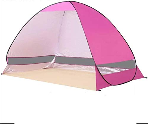 Topashe Outdoor UV Lightweight Tent,Portable Changing Dressing Camping Pop Up tents,Automatic free tent, portable outdoor tent-Pink