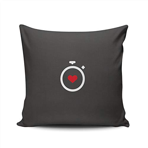 KAQIU Gitaar Microfoon Stereo Muziekinstrumenten Kussensloop Thuis Sofa Decoratieve Vierkant Kussen Case Decor Kussenslopen Dubbelzijdig Bedrukt