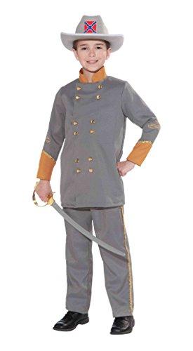 Forum Novelties Confederate Officer Child's Costume, Large