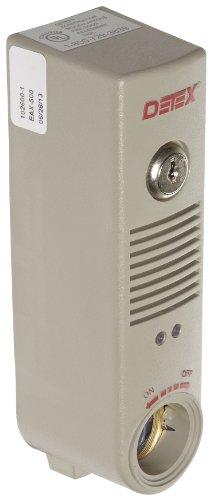 """Detex EAX500 Battery Powered Door or Wall Mount Exit Alarm, 2.10"""" W x 2.375"""" D x 7.70"""" L 3"""