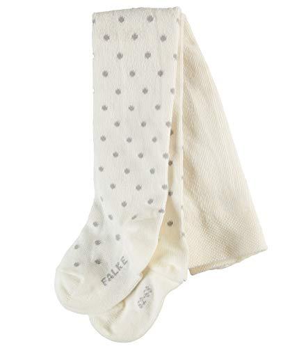 FALKE Baby Strumpfhosen Little Dot - Baumwollmischung, 1 Stück, Weiß (Off-White 2040), Größe: 62-68