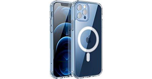 Novodio Schutzhülle für iPhone 12 Mini, magnetisch, transparent