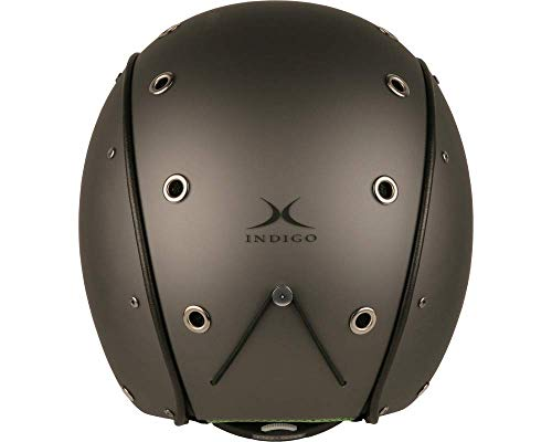 Indigo Helmet Element | Titan | Ski & Snowboard | Hochwertige Qualität (Titan, M | 56-58 cm)
