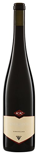 Weingut Knobloch Ober-Flörsheim Dornfelder Qualitätswein bestimmter Anbaugebiete 2013 halbtrocken ( 6 x 0.75 l)
