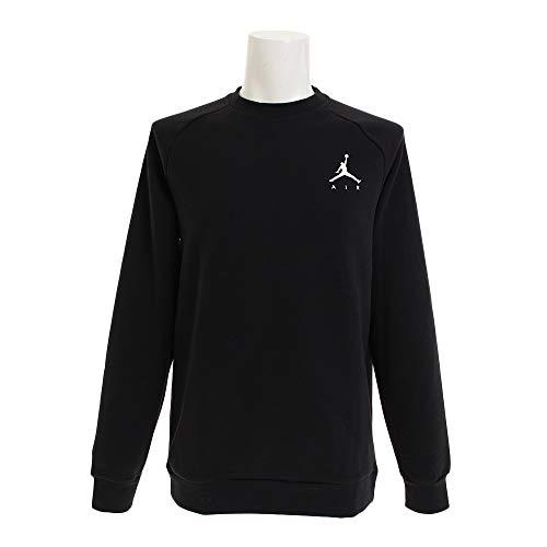 Nike Herren Jumpman Fleece Crew Sweatshirt S Schwarz/Weiß