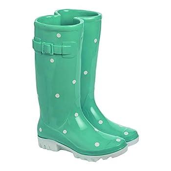 Resin Rain Boot Planter 9.00  L x 7.25  W x 12.25  H