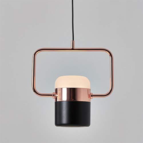 Chandelier Lámpara de LED Dormitorio Sala de estar Comedor simple Iluminación colgante Downlight decorativo, 90-260V araña moderna (Body Color : Type B)