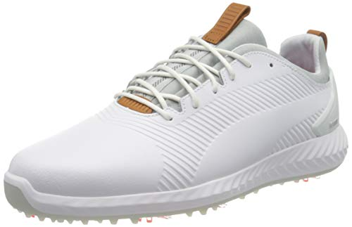 Puma Herren Ignite Pwradapt Leather 2.0 Sneaker, Weiß White White, 43 EU