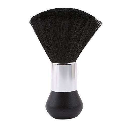 Friseur Nackenpinsel Bürste Salon Haarschneide Friseur Zubehör Barbier Haarpinsel - Friseurpinsel Nackenwedel - Frisör Nackenpinsel mit Plastik Griff