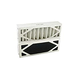 """Filters Fast 611D R Air Cleaner Filter Replacement for Bionaire 611D 1 Approximate dimensions of 3 1/2"""" x 9 7/8"""" x 2"""". For Models LP1000, LP1500H, 83130 Depending on air quality and usage replace every 3-6 months"""