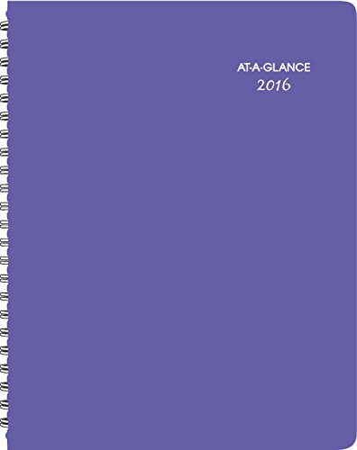 AT-A-GLANCE Weekly / Monthly Appointment Book / Planner 2016, Beautiful Day, 8.5 x 11 Inches, Lavender (938P-905)