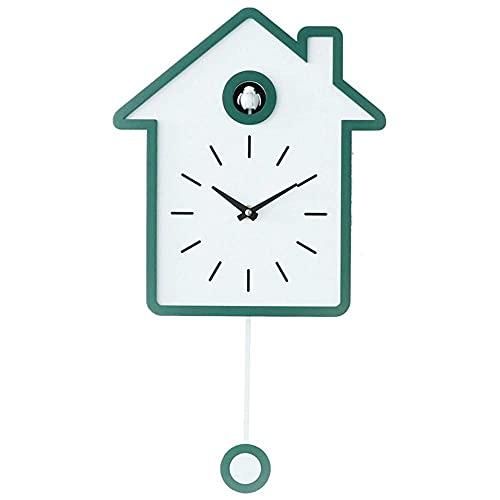 Reloj de Pared Decorativo Reloj de casa de pájaros Reloj de Cuco Moderno Reloj de Pared Reloj de Anillo Arte de Pared Hogar Sala de Estar Cocina Oficina D & Eacute;Cor Restaurant Cafe Decor