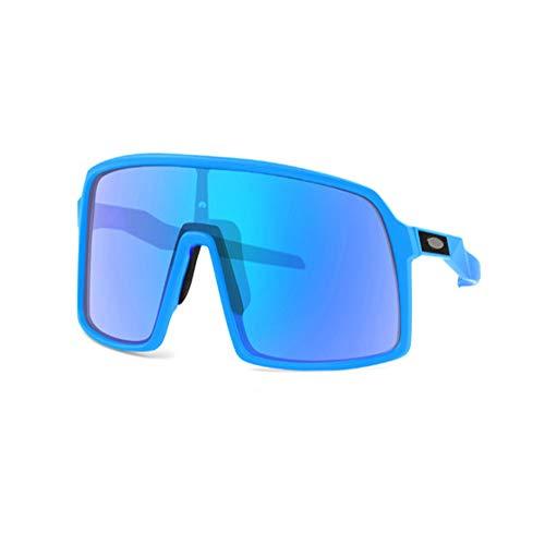 WOXING Bicicletas De Carretera Ciclismo Gafas,Hombre Mujer Gafas,Deportivas Correr Pesca Gafas,HD Polarizadas Irrompible Gafas De Sol-I 13.5x5.7cm(5x2inch)