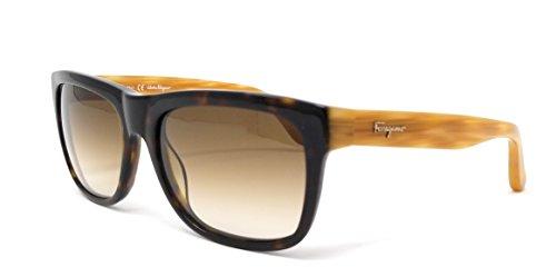 Ferragamo SF686S Gafas de sol, Marrón (Braun), 56.0 para Hombre