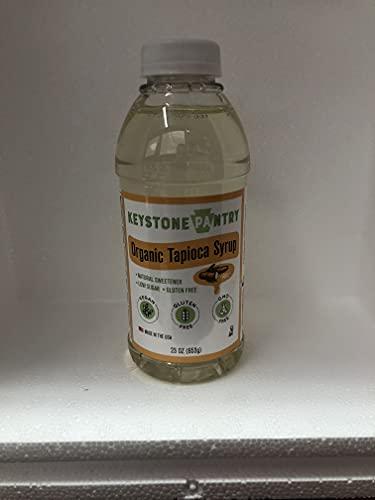 Keystone Pantry Organic Tapioca Syrup 23 oz Bottle Kosher Parve gluten free