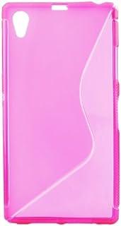 MDA TPUSOXPERIAZ1ROS Silicone Gel Case for Sony Xperia Z1 - Pink