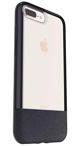 Otterbox Pack Slim Bundle Coque Renforcée Fine + Protecteur d'écran en Verre Trempé Performance Glass. pour iPhone 7 Plus/8 Plus Bleu Nuit Arrière Transparent