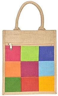 Jute Cottage Handbag (B-137Natural_Brown)