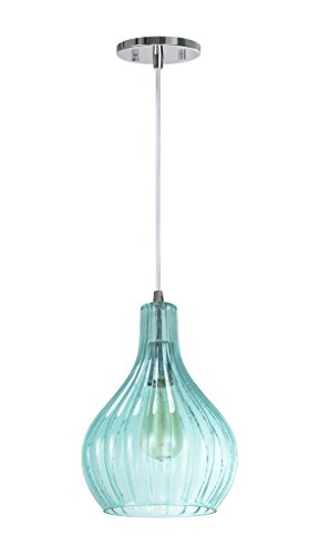 Aspen Creative 61039-1 Adjustable 1 Light Mini Pendant...
