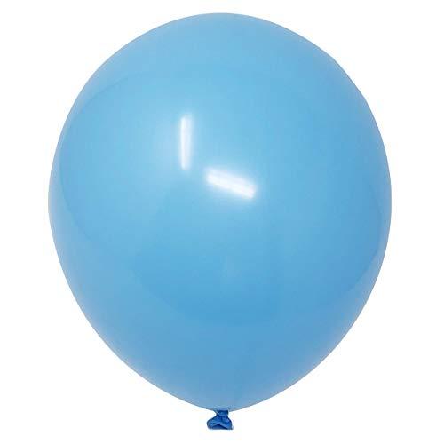 big light blue balloons - 5