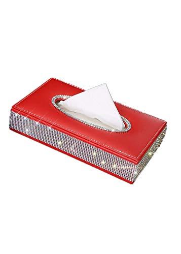 ZHZHZHZH Auto interieur stoel weefsel doos auto papierlade karton tissue box
