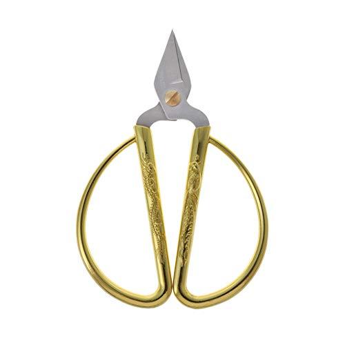 Mikiya Hot Gold Dragon Phoenix Bonsai Schere Hochzeit Schere Home Office Schneidewerkzeug