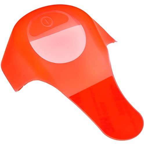 Vestigia - Cubierta impermeable del tablero de instrumentos de silicona compatible para Ninebot ES1 ES2 ES3 ES4 - Segway Electric Scooter - Piezas de repuesto para E-scooter (rojo)
