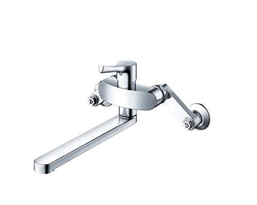壁付シングル混合水栓(エコシングル、共用) TKS05311J