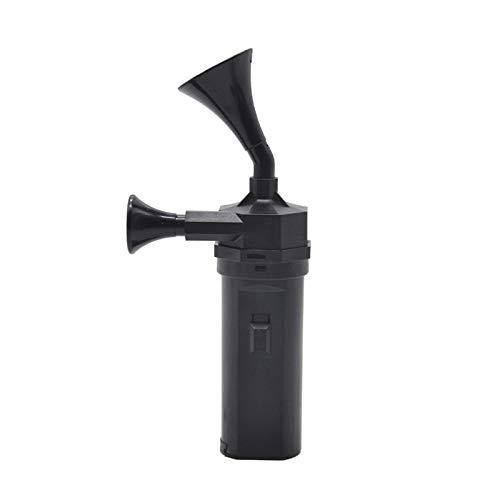XIAOFANG Aparatos electrónicos de Bomba de Aire Adecuados para Shisha Hookah Starter para Guardar su Tubo de Tabaco de Agua de respiración (Color : Black)