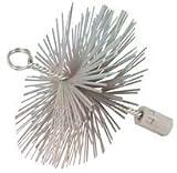Silverline 366706 - Cepillo de alambre en forma de...