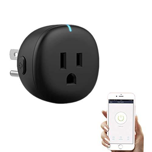 YOOXI Enchufe Inteligente, soporta el Control de Voz Enchufe Tuya, controla los electrodomésticos en Cualquier Momento y en Cualquier Lugar, Ayuda a Ahorrar el Consumo de Electricidad
