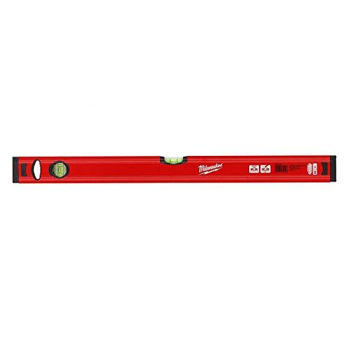 Milwaukee 4002395282449 493245909160cm/24redstick Slim Level–Rot/Schwarz
