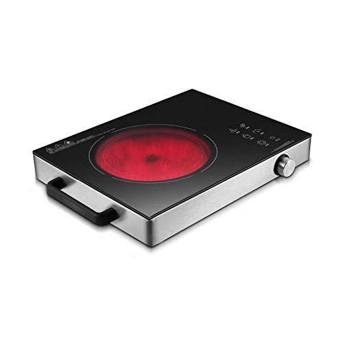 BLHZPD Inductie Kookplaat Draagbare Elektrische Inductie Kookplaat Enkele 2200W Plaat & Touch Controls